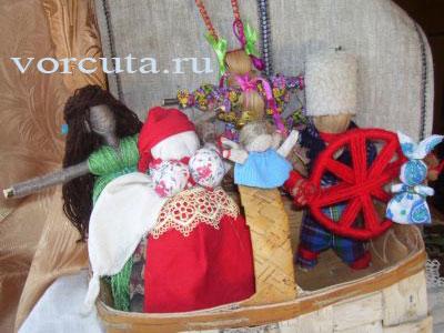Традиционные русские куклы